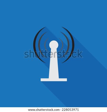 Wireless connection icon - Vector - stock vector