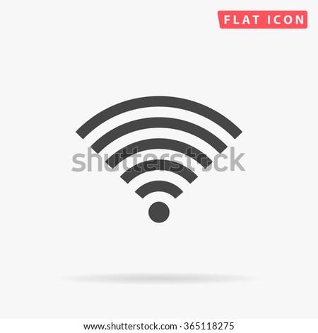 Wireless Icon Vector.  - stock vector