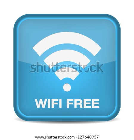 Wireless Network Symbol, free. vector