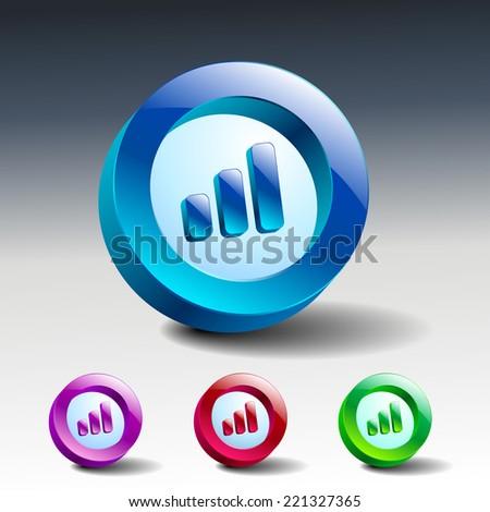 Wireless Network Symbol signal internet vector network - stock vector
