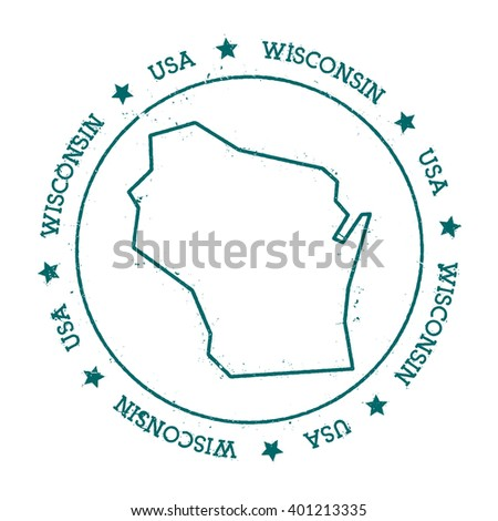 Wisconsin Map Us Globalinterco - Us and wisconsin maps