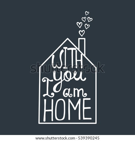 Love quotes stock images royalty free images vectors for Modern house quotes
