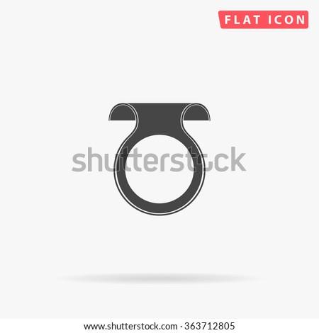 Wobbler Icon Vector.  - stock vector