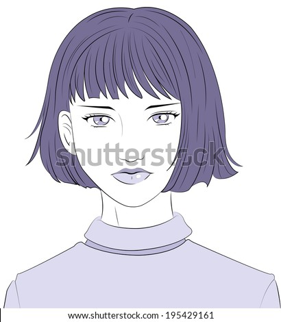 woman - stock vector