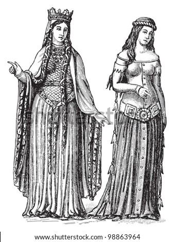 an illustration of lives of women in the middle ages The middle ages span approximately 400–1500 ad, beginning with the fall of the roman empire and concluding with the start of the renaissance as in other periods, women of the middle ages were not a uniform or homogenous group.