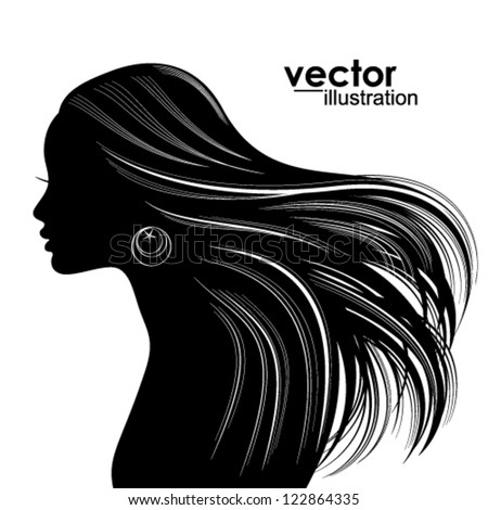 Woman Face Silhouette ...