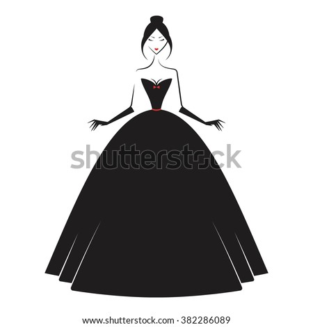 royalty free stock photo asian model wearing elegant dress
