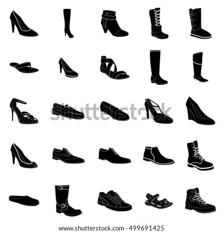 Shoes Types And Names For Mens