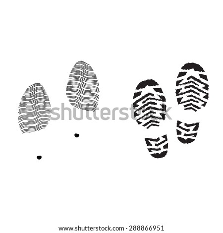 track shoe silhouette running shoe print stock images royalty free images 4578
