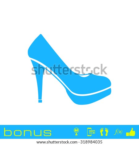 woman shoes icon