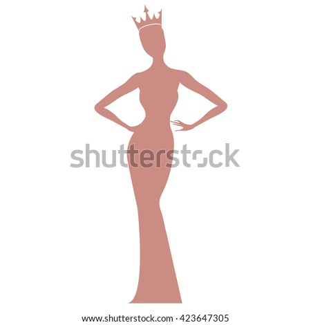 Beauty pageant logo vector - photo#10