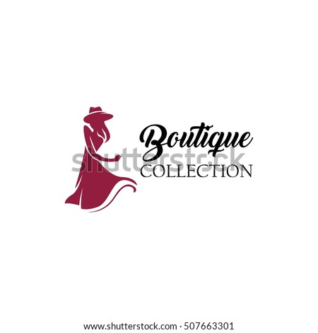 Women Fashion Logo Design Template Stock Vector 507663301 - Shutterstock