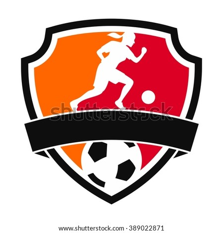 women football logo.