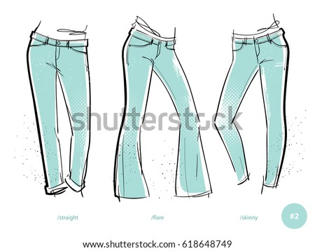 Jeans Stock Images Royalty-Free Images U0026 Vectors | Shutterstock