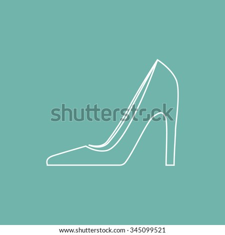 Women shoe icon