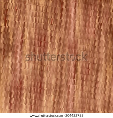 Wood decorative striped texture. Beautiful abstract bark pattern. Vector illustration of natural material. Eco style background. - stock vector
