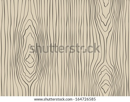 wood lines pattern - stock vector