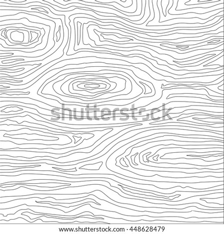 wood lines pattern. Vector Illustration