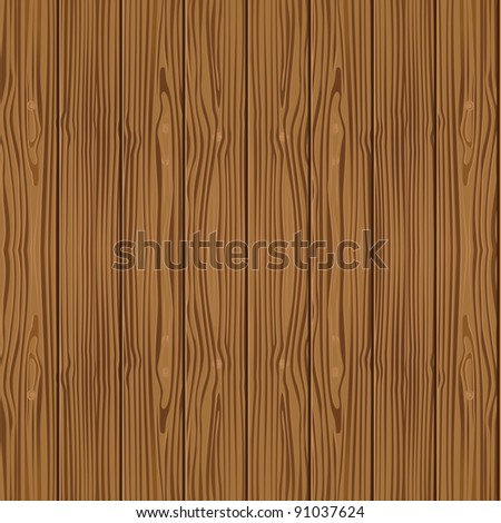wood seamless pattern - vector illustration - stock vector