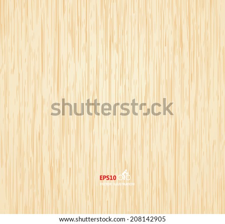 Wood texture background  - stock vector