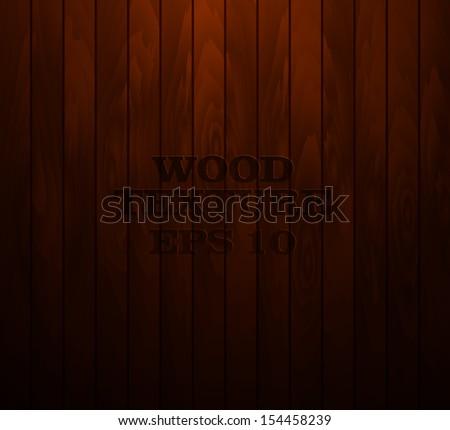 Wood texture or floor - stock vector
