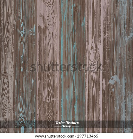 Wood texture. Vector Eps10 illustration. Grey pink and blue dirty wooden background - stock vector