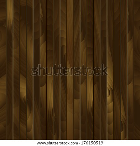 Wood texture, vector Eps10 illustration. Grunge retro vintage wooden texture.  Abstract wood background. Wooden background with place for your text  - stock vector