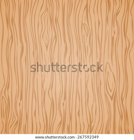 Wood vector texture template. Pattern seamless, material hardwood, floor natural, light parquet, vector illustration - stock vector