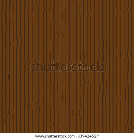 Wooden  background. Vector illustration - stock vector