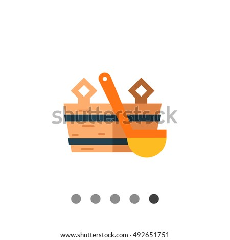 Toolbox Tools Symbol Sign Button Stock Vector 77278714