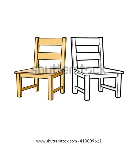 Chair Outline Stock Images RoyaltyFree Images Vectors