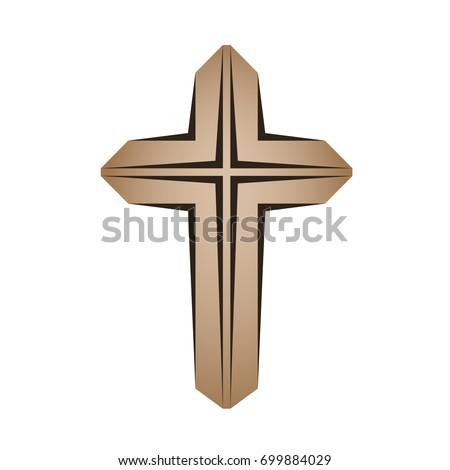 Vector Golden Christian Crosses Stock Vector 86394526 ...
