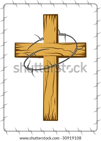 Wooden cross Stock Photos, Images, & Pictures | Shutterstock