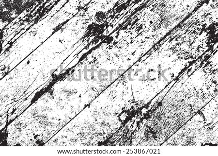 Wooden Planks diagonal pattern overlay texture for your design. EPS10 vector. - stock vector