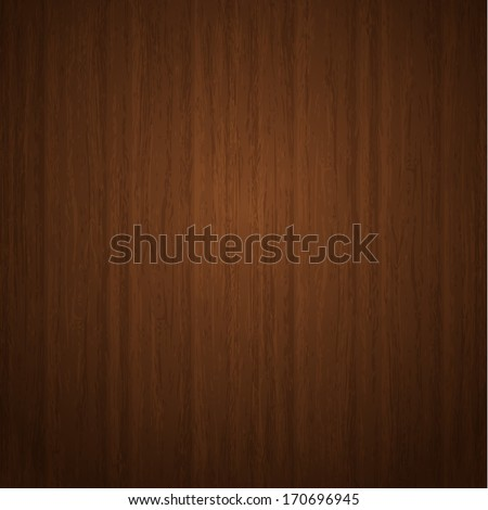 Wooden striped fiber textured background. Vector. - stock vector
