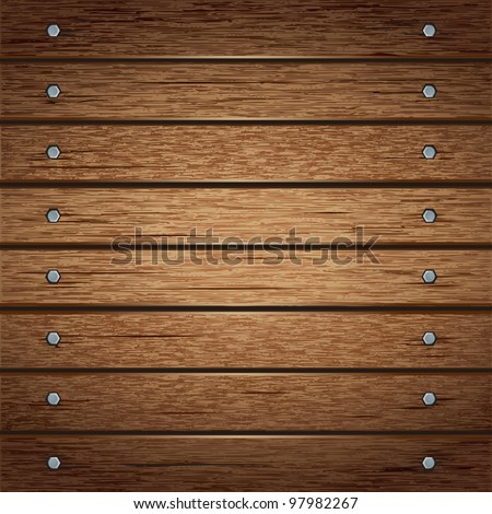 Wooden texture background. vector illustration.