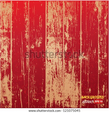 Wooden texture vector illustration - stock vector