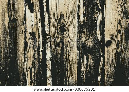 wooden textures. background. vector illustration. - stock vector
