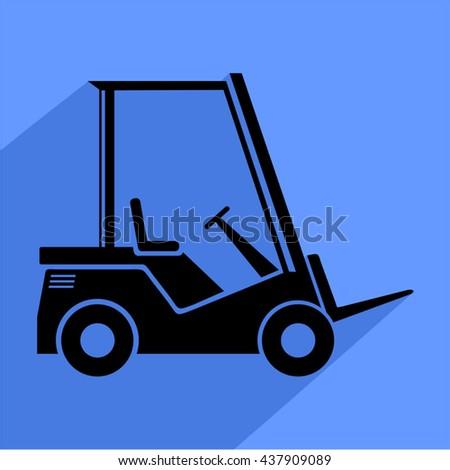 work machine icon - stock vector