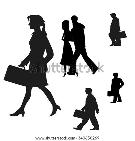 work people vector