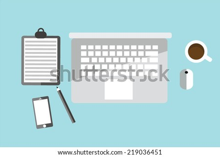 Working tool office vector