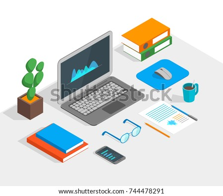 Isometric Laptop Stock Images Royalty Free Images