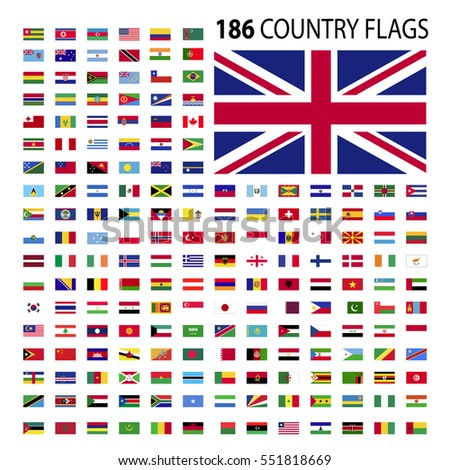 world country flags icon vector illustration