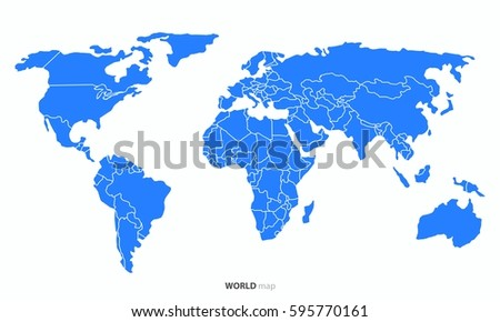 World map outline imgenes pagas y sin cargo y vectores en stock world country map vector gumiabroncs Images