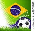 world cup Brasil - stock vector