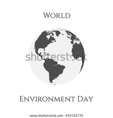 World Environment Day Earth Background Template
