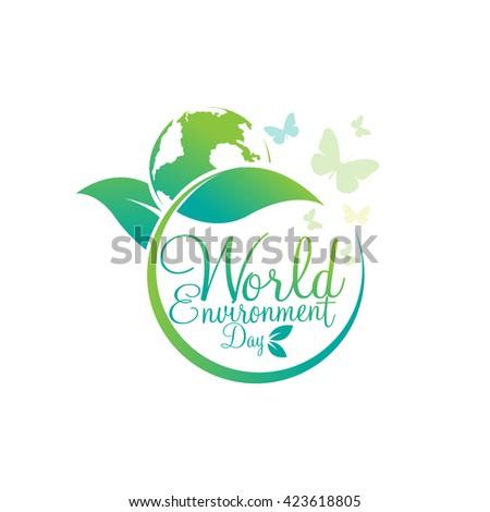 World environment day vector - stock vector