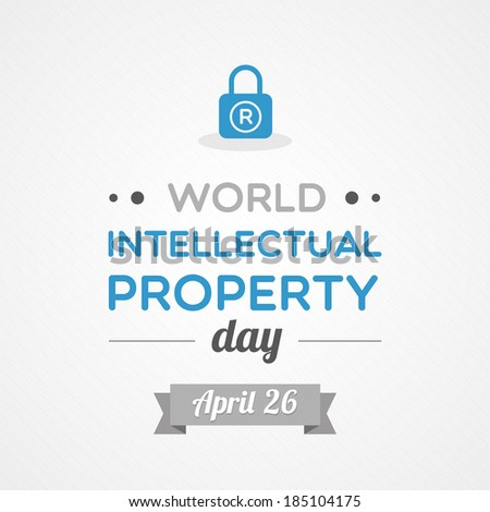 World Intellectual Property Day - stock vector