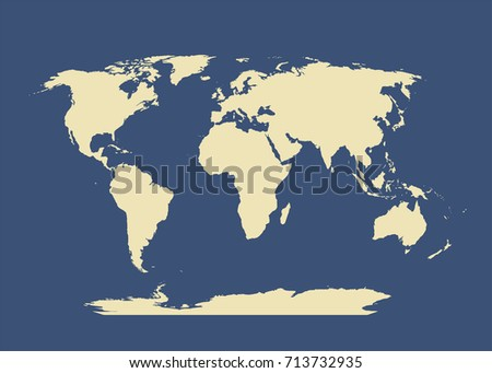 World map markers stock vector 267355061 shutterstock world map gumiabroncs Choice Image
