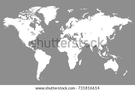 World map stock vector 731816614 shutterstock world map gumiabroncs Choice Image